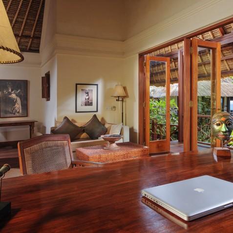 Villa Bayuh Sabbha - Office & Library - Uluwatu, Bali