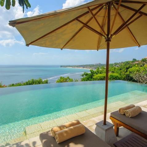 Villa Bayuh Sabbha - Sun Loungers - Uluwatu, Bali