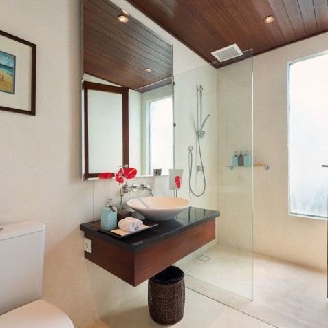 Villa Capung Bali - Guest Bathroom