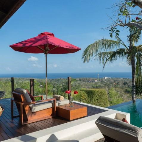 Villa Capung Bali - Master Suite Deck