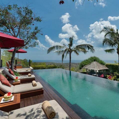 Villa Capung Bali - Pool Deck