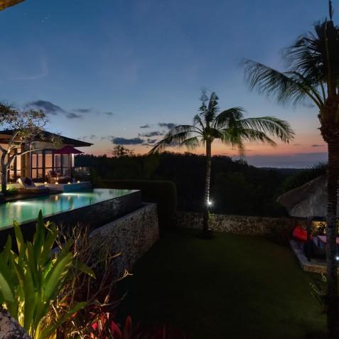 Villa Capung Bali - Evening