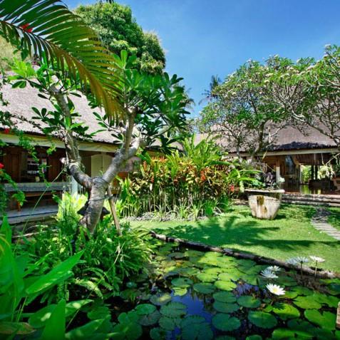 Villa Hibiscus, Sanur, Bali - Gardens and Pond