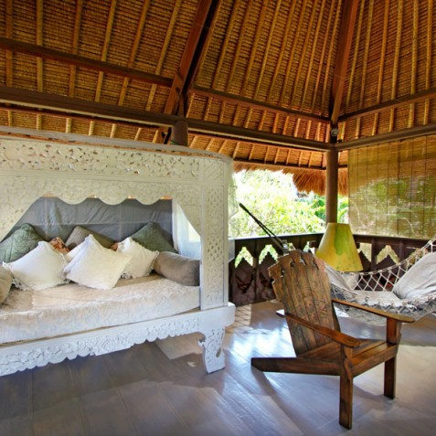 Villa Hibiscus, Sanur, Bali - Lounge Daybed