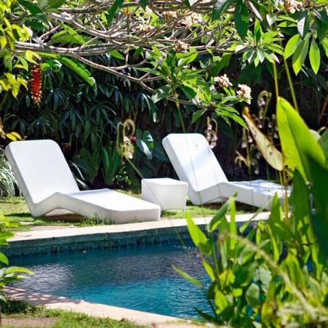 Villa Hibiscus, Sanur, Bali - Pool Loungers