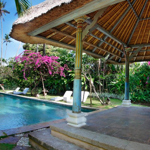 Villa Hibiscus, Sanur, Bali - Poolside Bale