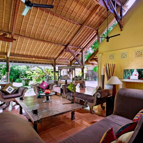 Villa Hibiscus, Sanur, Bali - Sitting Room