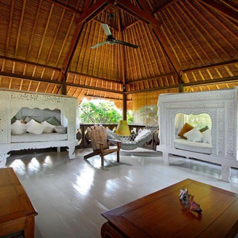 Villa Hibiscus, Sanur, Bali - TV Lounge