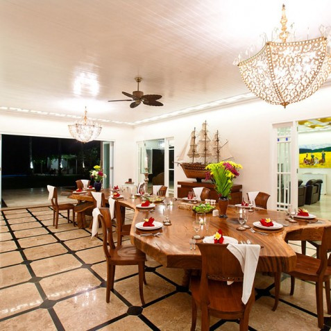 Villa Puri Nirwana, Sanur-Ketewel, Bali - Dining Room
