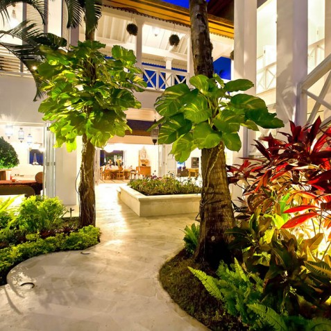 Villa Puri Nirwana, Sanur-Ketewel, Bali - Garden Lights