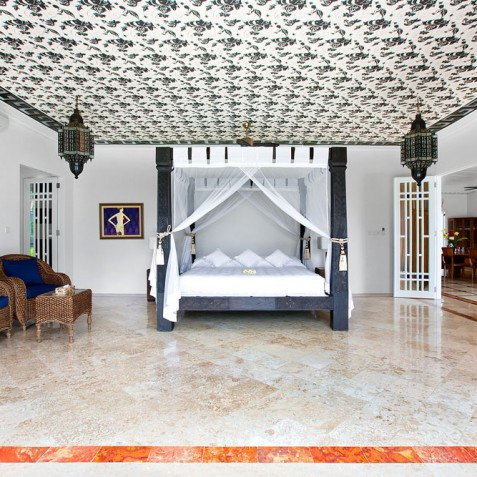 Villa Puri Nirwana, Sanur-Ketewel, Bali - Master Bedroom