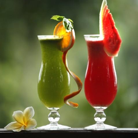 Bagus Jati Health & Wellbeing Retreat, Bali - Detox Juices