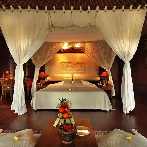 Bagus Jati Health & Wellbeing Retreat, Bali - Deluxe Spa Villa Bedroom
