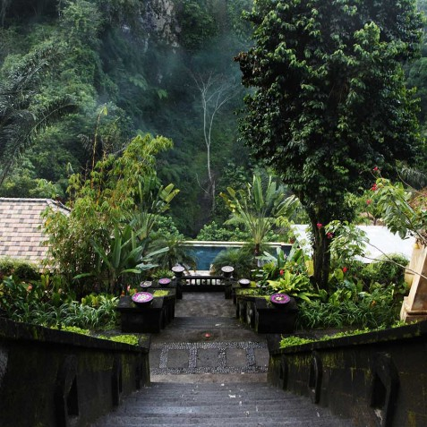 Bagus Jati Health & Wellbeing Retreat, Bali - Spa & Pool Area