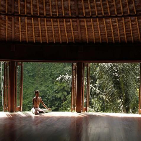 Bagus Jati Health & Wellbeing Retreat, Bali - Yoga Pavilion