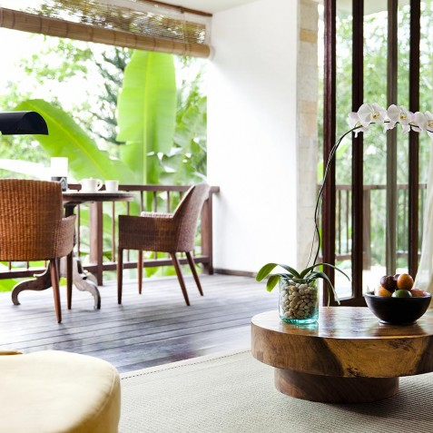 COMO Shambhala Estate, Bali - Retreat Villa - 1 Bedroom - Living