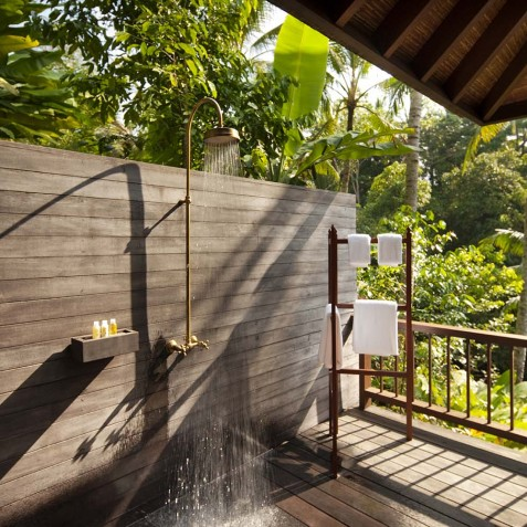 COMO Shambhala Estate, Bali - Retreat Villa - 2 Bedrooms - Outdoor Shower
