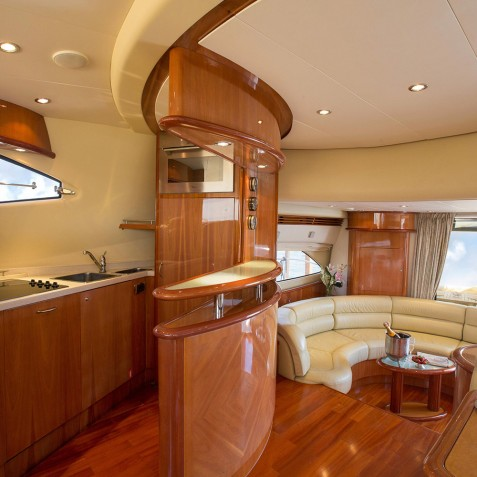 Galley - Burjuman - Luxury Yacht Charter & Cruises - Bali, Indonesia