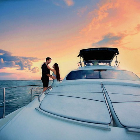 Sunset Cruises - Burjuman - Luxury Yacht Charter, Bali, Indonesia