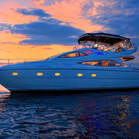 Sunset - Burjuman - Luxury Yacht Charter & Cruises - Bali, Indonesia