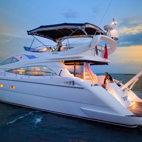 Burjuman Super Yacht - Luxury Yacht Charter & Cruises - Bali, Indonesia