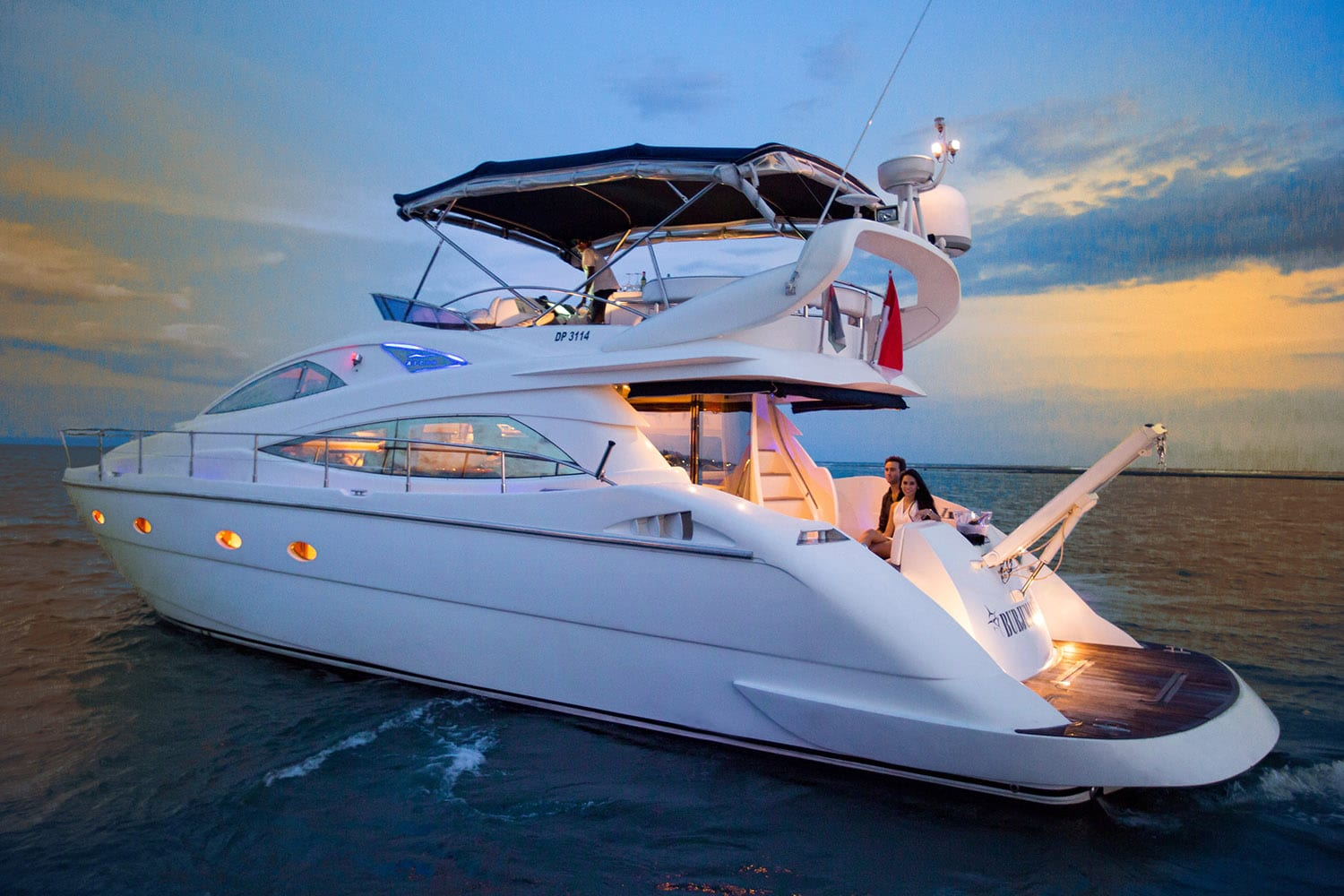 Burjuman super yacht luxury yacht charter ultimate bali for Luxury motors of bay area