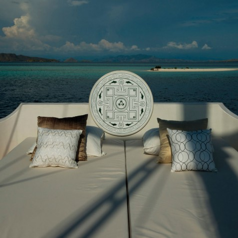 Daybeds - Alexa Private Cruises - Luxury Charter Yacht - Indonesia