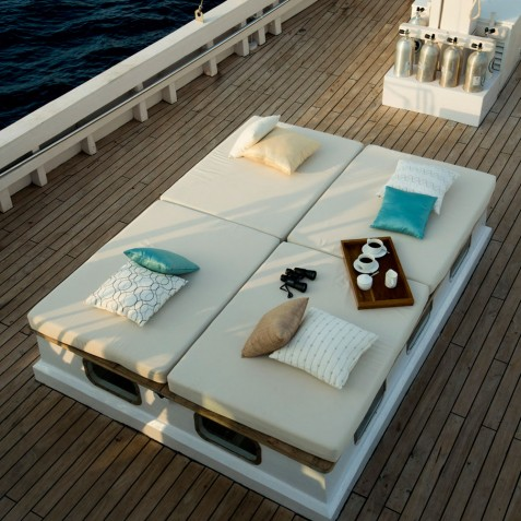 Relaxing Spaces - Alexa Private Cruises - Luxury Charter Yacht - Indonesia