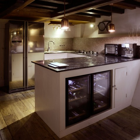 Kitchen - Alexa Private Cruises - Luxury Charter Yacht - Indonesia