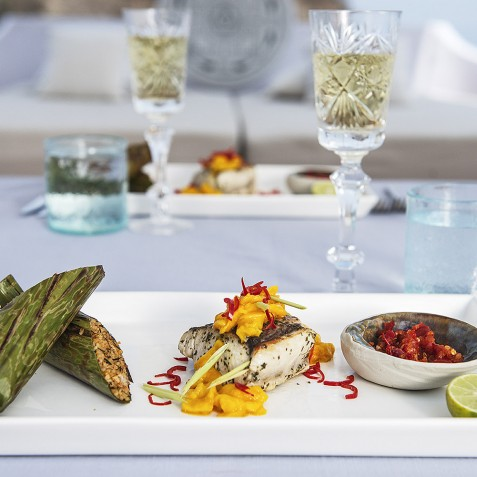International Cuisine - Alexa Private Cruises - Luxury Charter Yacht - Indonesia