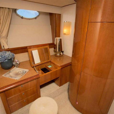 Cabin Desk - Burjuman - Luxury Yacht Charter, Bali, Indonesia