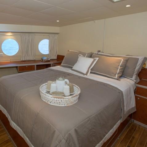 Double Cabin - Haruku - Luxury Yacht Charter, Bali, Indonesia