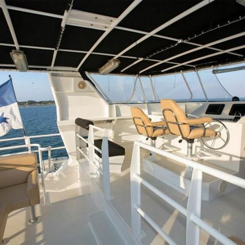 Flybridge - Haruku - Luxury Yacht Charter, Bali, Indonesia