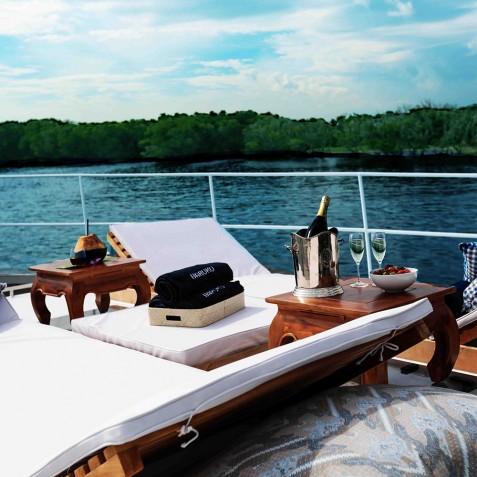 On Deck - Haruku - Luxury Yacht Charter, Bali, Indonesia