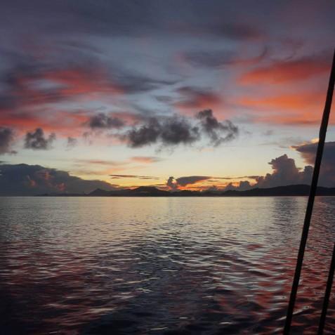 Sunsets - Mutiara Laut - Luxury Yacht Charter Indonesia