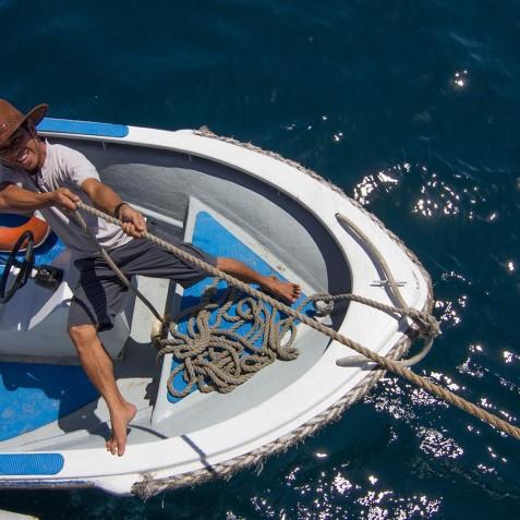 Transfer Boat - Ombak Putih Cruises - Sailing Adventures - Indonesia