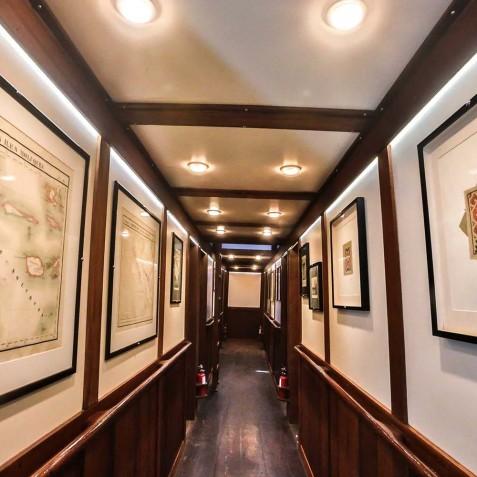 Cabin Corridor - Ombak Putih Cruises - Sailing Adventures - Indonesia