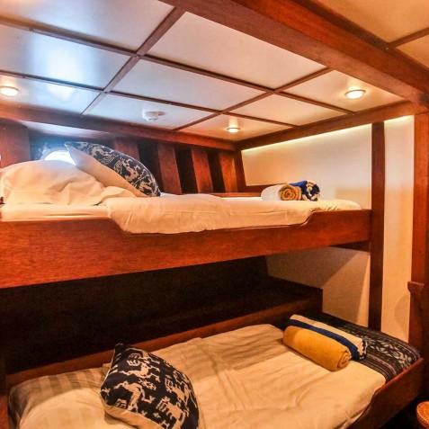 Twin Cabins - Ombak Putih Cruises - Sailing Adventures - Indonesia
