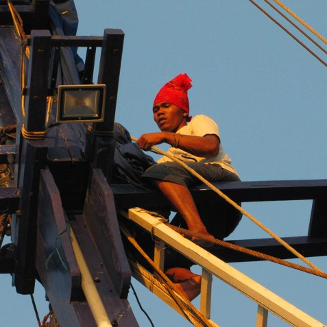 Crew Member - Ombak Putih Cruises - Sailing Adventures - Indonesia