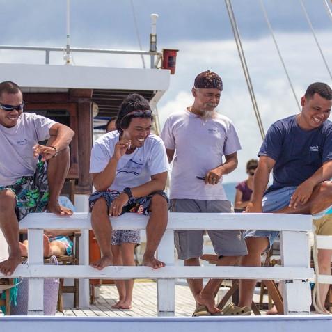 Life On Board - Ombak Putih Cruises - Sailing Adventures - Indonesia