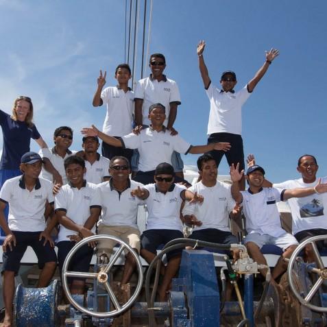 The Crew - Ombak Putih Cruises - Sailing Adventures - Indonesia
