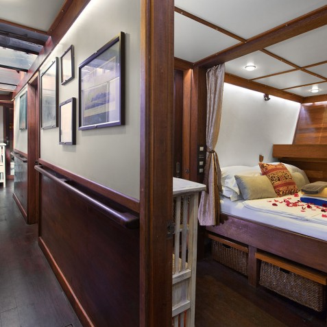 Double Cabin - The Katharina - Sailing Adventure Cruises Indonesia