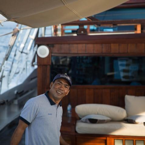 Crew Member - The Katharina - Sailing Adventure Cruises Indonesia