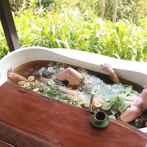 Spa Bath - Zen Resort Bali - Indonesia