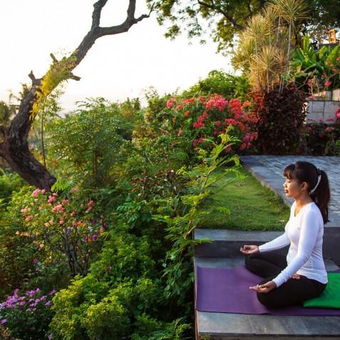Morning Meditation- Zen Resort Bali - Indonesia