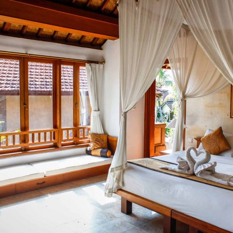 Villa Sonia - Bedroom Interior - Bali Vitality Detox Retreats - Ubud, Bali, Indonesia