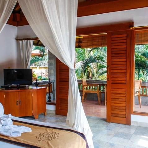 Villa Sonia - Bedroom - Bali Vitality Detox Retreats - Ubud, Bali, Indonesia