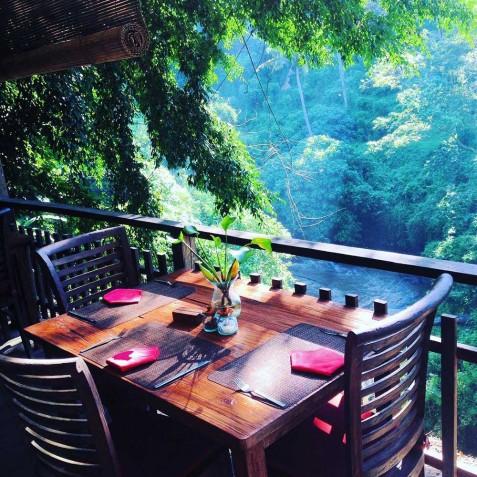 Restaurant - Svarga Loka Resort - Ubud, Bali, Indonesia