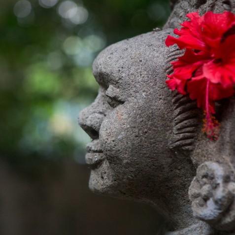 Garden Statue - Svarga Loka Resort - Ubud, Bali, Indonesia