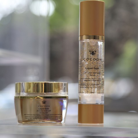 Liquid Gold Beauty Products - Cocoon Medical Spa Bali